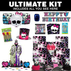 Monster High Birthday Party Ultimate Tableware Kit Serves 8
