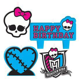 Monster High Candle Set