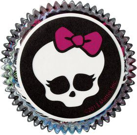 Monster High Cupcake Baking Cups (50 Pack)