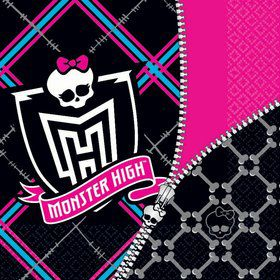 Monster High Napkins (16-pack)