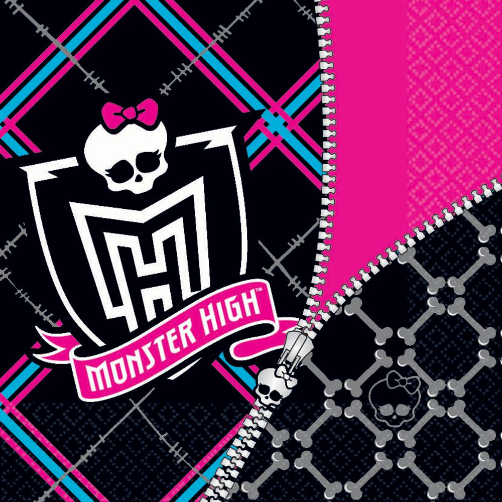 Monster High Napkins - Party Supplies BB101034