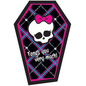 Monster High Thank You Notes (8 pack)
