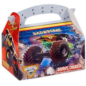 Monster Jam 3D Empty Favor Boxes
