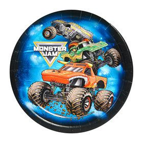 "Monster Jam 7"" Dessert Plates (8 Count)"