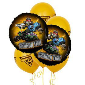 Monster Jam 8 pc Balloon Kit