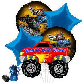 Monster Jam Balloon Bouquet Kit