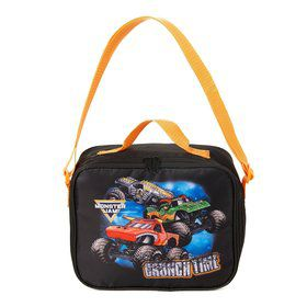 Monster Jam Canvas Lunch Tote