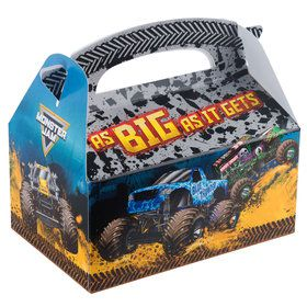 Monster Jam Favor Box