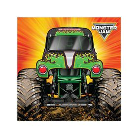 Monster Jam Grave Digger Party Beverage Napkins (20)