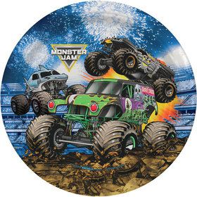 Monster Jam Grave Digger Party Dinner Plates (8)