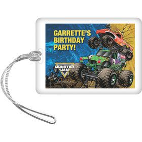 Monster Jam Personalized Bag Tag (Each)