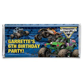 Monster Jam Personalized Candy Bar Wrapper (Each)