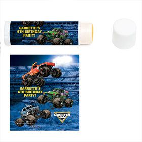 Monster Jam Personalized Lip Balm (12 Pack)