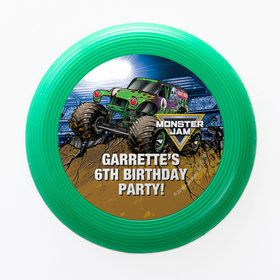 Monster Jam Personalized Mini Discs (Set of 12)