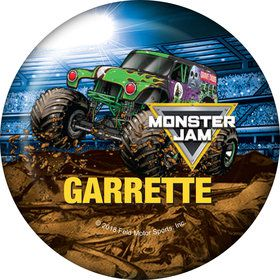 Monster Jam Personalized Mini Magnet (Each)