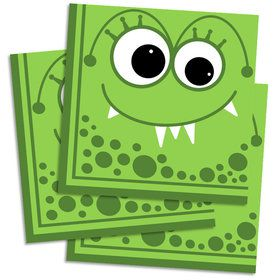 Monster Lunch Napkin (16 Count)