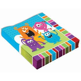 Monster Luncheon Napkins (16)
