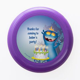 Monster Party Personalized Mini Discs (Set of 12)