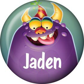 Monster Party Personalized Mini Magnet (Each)