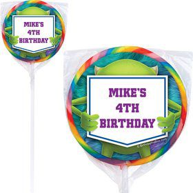 Monster Personalized Lollipops (Pack Of 12)