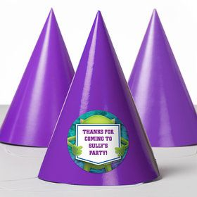 Monster Personalized Party Hats (8 Count)