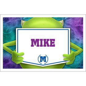 Monster Personalized Placemat (Each)