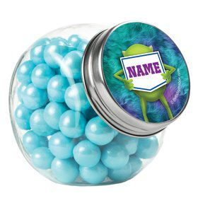 Monster Personalized Plain Glass Jars (12 Count)