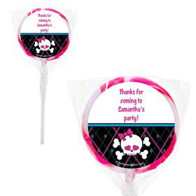 "Monster School Personalized 2"" Lollipops (20 Pack)"