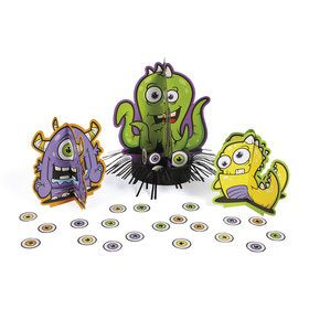 Monster Table Decor Kit