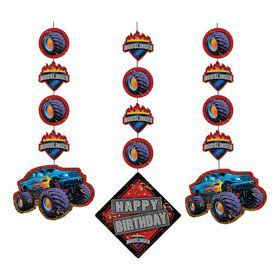 Monster Truck Dangling Cutout (3-pack)