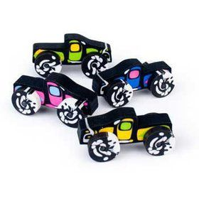Monster Truck Erasers (12-pack)