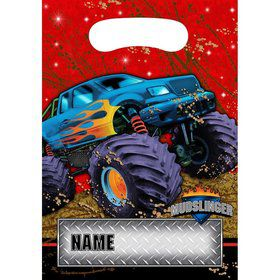 Monster Truck Loot Bags (8-pack)