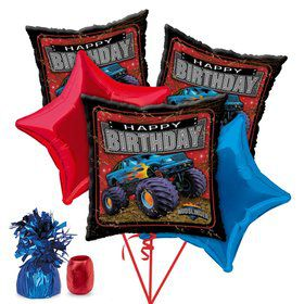 Monster Truck Party Balloon Kit
