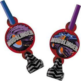 Monster Truck Party Blowers (8-pack)