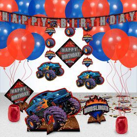 Monster Truck Party Decoration Kit