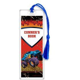 Monster Truck Personalized Bookmark (each)