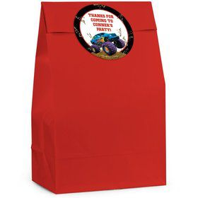 Monster Truck Personalized Favor Bag (Set Of 12)