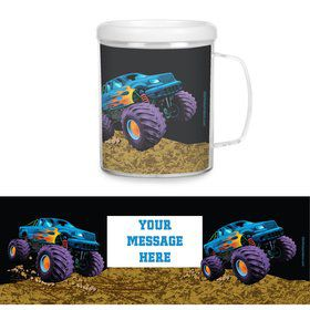 Monster Truck Personalized Favor Mugs (Each)