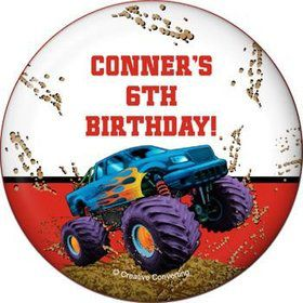 Monster Truck Personalized Magnet (each)