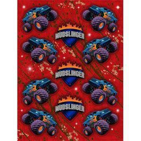 Monster Truck Stickers (4-pack)