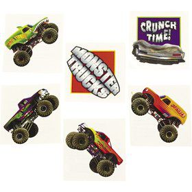 Monster Truck Tattoos (Each)
