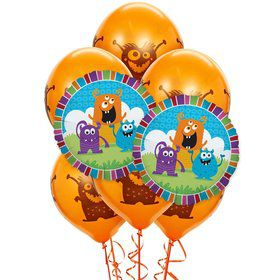 Monsters 8 pc Balloon Kit