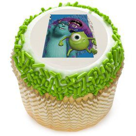 "Monsters Inc. 2"" Edible Cupcake Topper (12 Images)"