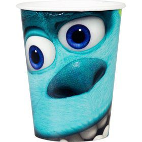 Monsters Inc. 9oz Cups (8 Count)