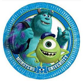 Monsters Inc. Dessert Plates (8 Count)