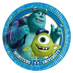 Monsters Inc. Luncheon Plates (8 Count)