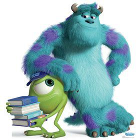 Monsters Mike and Sulley Cardboard Standup (Each)