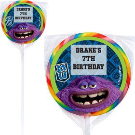 Monsters Personalized Lollipops (12 Pack)