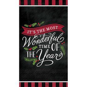 Most Wonderful Time Guest Towels (16)