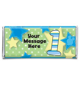 Mouse 1st Birthday Personalized Candy Bar Wrapper (Each)